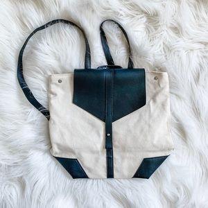 ✨ NWOT Canvas Backpack